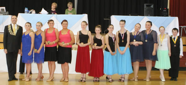 Dance competitions, events and examinations organised and/or entered by the McDonald Dance Academy